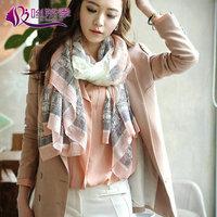 New Arrival limited edition Eiffel Tower print scarf for women silk hmong shawls winter warm chiffon bufanda for girl 4 style