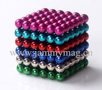 Jamag 216pcs*5mm colorful magnet ball neocubes 30 sets