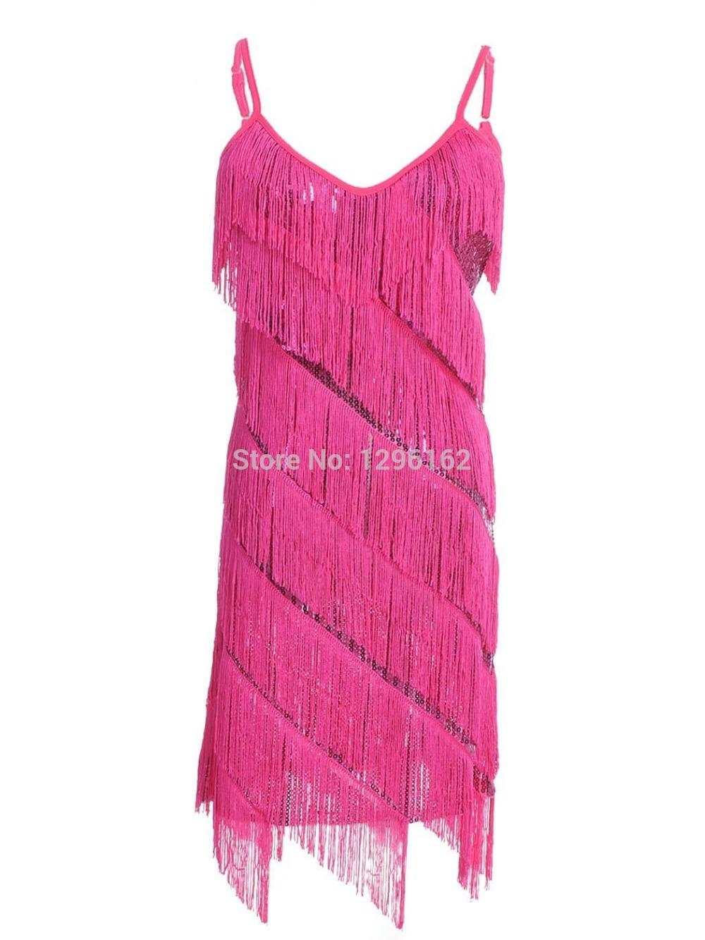 Women's Dress 1920s Swing Sequins Flapper Costume Tassel Dresses FN604(China (Mainland))
