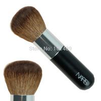 Free Shipping Goat Hair Wood Handle Big Powder Brush/Cosmetic Brush/Bronzing #19