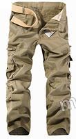Men's casual multi-pocket trousers 538