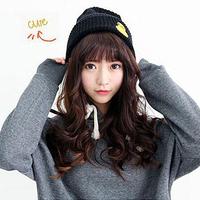 Fanshou Free Shipping 2015 Women Hat Korean Fashion Character Beanies Warm Caps Knitted Winter Hats For Women Gorro Invierno