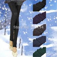 1pc High Quality Women Leggings Slim Girls Casual Sport Leggings Warm Winter Cotton Skinny Stretch Pants