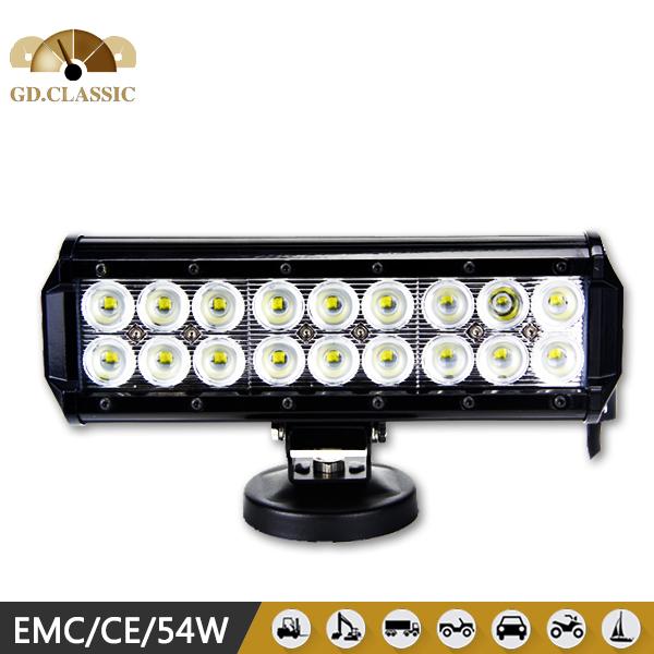 Chinese utv parts 12v 54w led lamp led light bar(China (Mainland))