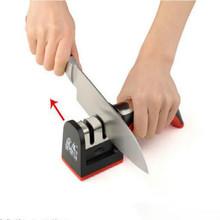 Two Stages (Diamond & Ceramic) Kitchen Knife Sharpener Sharpening Stone Household Knife Sharpener Kitchen Knives Tools(China (Mainland))