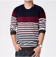2014 New Arrival Fashion Sweater For Men Stripe Sweater For Men