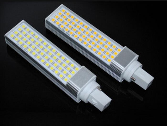 Free shiping CE&ROHS Approval E27 /G24 11W 5050 SMD 44LED PL Lamp Cool White/Warm White 110V/220-240V(China (Mainland))