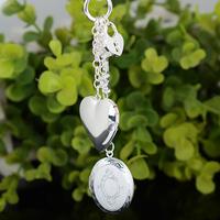 The rotating bead bracelet Nine Fortune 925 Sterling Silver Female Transport Bead Bracelet Bangle