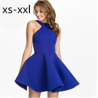 XS-XXL Spring And Summer New Arrived Dress Of Women Fashion Halter Strapless Dress Temperament Slim Waist-dimensional Dress