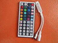1PC DC 12V 3*2 A 44 Key IR Remote controller for rgb 5050/3528 light strip 44 keys/button Mini Wireless led remote controller s1