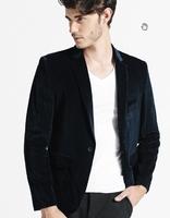 Mens corduroy blazer slim fit coat hot sale new arrival luxury factory clothes terno male jacket Korean fashion