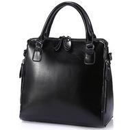 NO.1 NEW 2015 Women Genuine Leather Handbags Luxury Famous Brand Handbag Designer Women Leather Bags Retro Women Hand bags HN07