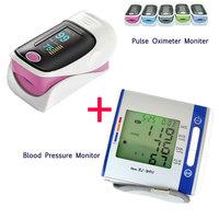 oximetro monitor SH-C2 + Digital Wrist blood pressure monitor 900W