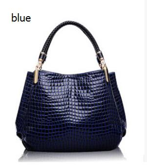 New 2015 Fashion Desigual Brand Bag Leather Women Handbag Shoulder Bags Crocodile Women Messenger Bags Bolsas School Bags(China (Mainland))