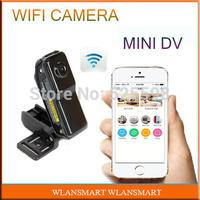 WiFi Camera Mini DV Wireless IP Camera MD99S MD81S Hidden Camcorder Video Record CCTV Wifi HD Remote Telecontrol by Phone