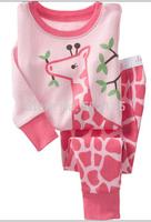 new fashion kids pajamas conjunto cartoon pyjamas girls griaffe cartoon sleepwear boys batman pajamas superman pyjamas