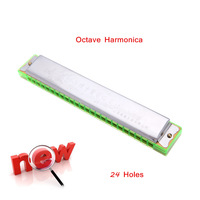 High Quality 20 Holes Octave Harmonica Key of C Kids Harmonica Children Musical Toys New Arrival