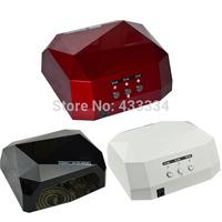 2015 new 36W EU Plug Diamond Shaped Nail Dryer Professional Curing Nail Art Lamp UV Gel Lamp Nail Tools