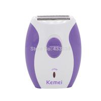 EU Plug KM-280R Women Rechargeable Epilator Shaving Tools For Hair Removal Lady's Depilador For Bikini Underarm Personal Care