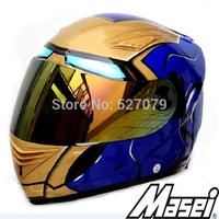 Masei 830 IRON MAN Champion Kart Racing Helmets in Brazil Arai Shoei Motorcycle Race Helmets