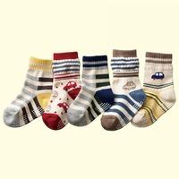 Free Shipping 5Pcs/lot New Cute Baby Socks/Kid Boy Slip-resistant Cartoon Floor Socks Boy Socks