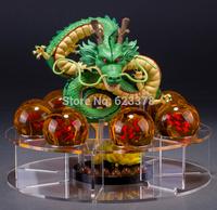 dragon ball gt toys Anime  dragon ball z action figures Dragon Toy with 7pcs PVC ball + the display shelf