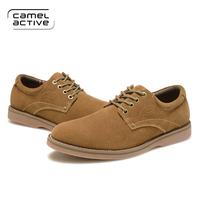 Camel Active 2014 men's casual shoes,leather men's shoes,Male matte leather brand shoes