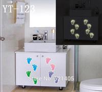 YT-123 Luminous stickers Wall stickers Switch sticker Free Shipping