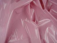 Shiny PVC Vinyl Pleather Gothic Fetish Pitch Baby Pink by The Yard, PU-1005