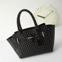 New Arrivel High Quality Women Handbag Dot Bag Smile Bag Trapeze Small Handbags Fashion New Style Shoulder Bags Free Shipping