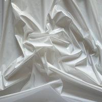 Shiny PVC Vinyl Pleather Gothic Fetish Pitch Baby White by The Yard, PU-1001