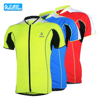 men sports cycling bike bicycle running sports short sleeves breathable jersey clothing shirts wear top clothes