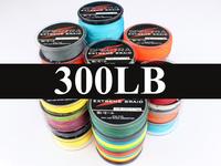 100M 300LB 1.20mm Spectra PE Dyneema 8 Strands Big Game 11 Colors Braided Fishing Line