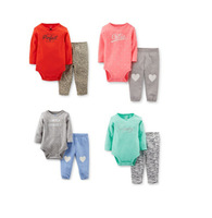 SY071 Hot selling girls clothing set baby girl sets spring and autumn clothes suit with long sleeve infant clothes retail