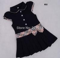 Summer Princess Baby Girl Dress fashion 100%cotton Little Flower Girls Tennis Dresses Brand Kids Children clothing Party Dress