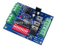 Common cathode DMX constant voltage decoder;DC12-24V input;3CH*3A output(R+G+B+V-);WS-DMX-CC-3CH-BAN