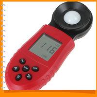HS1010 1Lux / 0.1FC Resoltution 200 000 Digital Lux Meter LCD Backlight Luxmeter Digital Light Meter luminometer Photometer