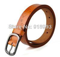 Han edition retro embossing belt wholesale taobao sell lots of new small love sweet lady belt fine female belt
