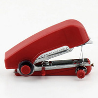 Mini Sewing Machine Portable Cordless Hand-held Clothes Manual Household Travel Useful Tool