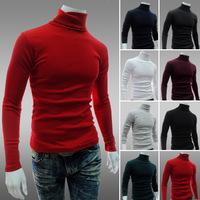 2015 New men's T-shirt render knitwear Men's T-shirt mens designer clothing men turtleneck cultivate