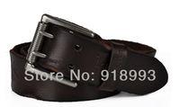 Men's leather belt men belt retro embossed first layer of leather belt new belt buckle needle