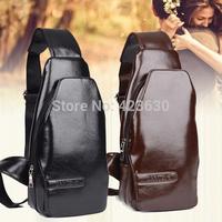 Men and women genuine leather shoulder bag men's travel bags