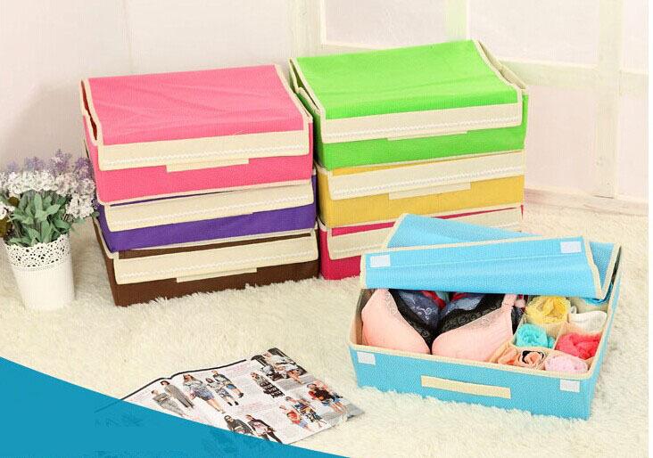 Underwear Storage Boxes Pants Divider Organizer Box For Toys Organizador De Escritorio Food Container Caixa De Armazenamento(China (Mainland))