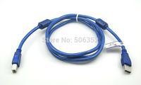 wholesale new high speed with magnetic ring USB print line 2.0 printer port USB data line line printer 5 m