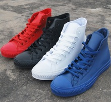 4 Color Women/Men Star high quality Chuck high Top fashion leisure sneaker All leather shoes (China (Mainland))
