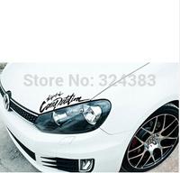 1pcs car sticker head The Spirit of SPORT Car Decal for Toyota Ford Chevrolet Volkswagen VW Honda Hyundai Kia Lada
