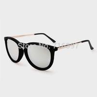 2015 New design 6 Colors Men/women Fashion Justin 4171 Sunglasses Retro Round Frame Erika Sunglasses Sports Eyewear Mirror