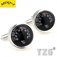 Thermometer Cufflink Cuff Link 1 Pair Free Shipping Promotion