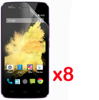 8pcs New Clear Skin LCD Screen Protector Cover Film For Wiko Birdy