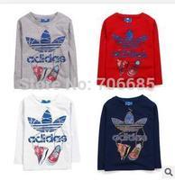 Children's fashion t-shirt short sleeve boy's fashion shirt bird children's garment Freeshipping